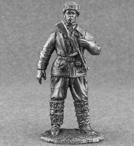 Metal-Miniature-WW2-Soviet-USSR-Soldier-1-32-scale-Figure-Toy-Soldiers-54mm