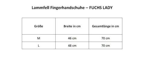 PEAU LAINEE doigt Gants-Renard Lady femmes gants fellhandschuhe Cuir
