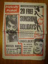 MELODY MAKER 1968 FEB 10 BEATLES ENGELBERT HUMPERDINCK