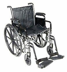 McKesson-Wheelchair-Steel-18-034-W-x-16-034-D-Swing-Away-Footrest-146-SSP218DDA-SF