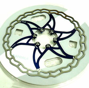 180mm 88g gobike88 The Lightest ASHIMA AiNEON Disc Rotor Y65 Gold