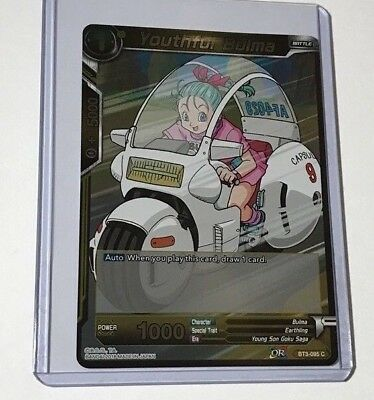 Youthful Bulma - BT3-095 Foil C BT3-095  1 Dragon Ball Super