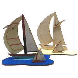 Geschenk Kreativ Set Für Kinder Segelboot Zum Kindergeburtstag