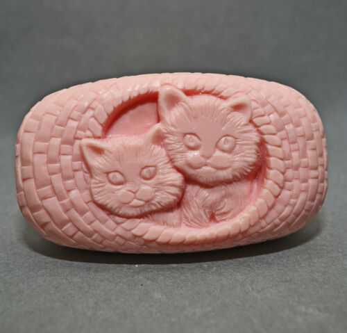 KITTY CATS SOAP SILICONE MOULD CAT mold MOULD
