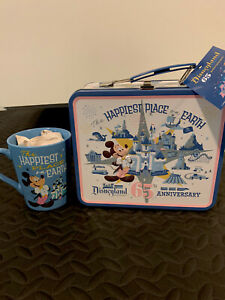 Disneyland-65th-Anniversary-Happiest-Place-On-Earth-Funko-Lunchbox-And-Mug-NEW