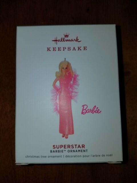 Superstar Barbie LIMITED EDITION Hallmark Keepsake Ornament 2019