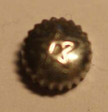 Venere CORONA IN ACCIAIO INOX Ø 5,0mm altezza 2,7mm Stem Ø 0,9mm