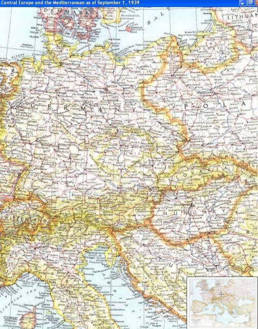 U Pick Any 2 National Geographic Maps from 1930's -1950's