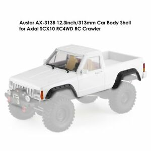 Axe-313b 313mm Pick-up Shell Kit De Voiture Corps Pour Axial Scx10 Rc4wd Rc Crawlerpu #