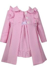 Pink-w-White-Polka-Dots-Jacquard-Dress-and-Coat-Set