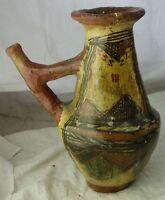 antike Keramik Vase Fayence