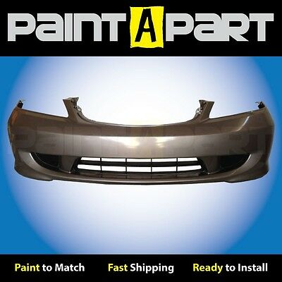 Primed Front Driver Side Bumper to Body Filler Panel For Accord 98-02