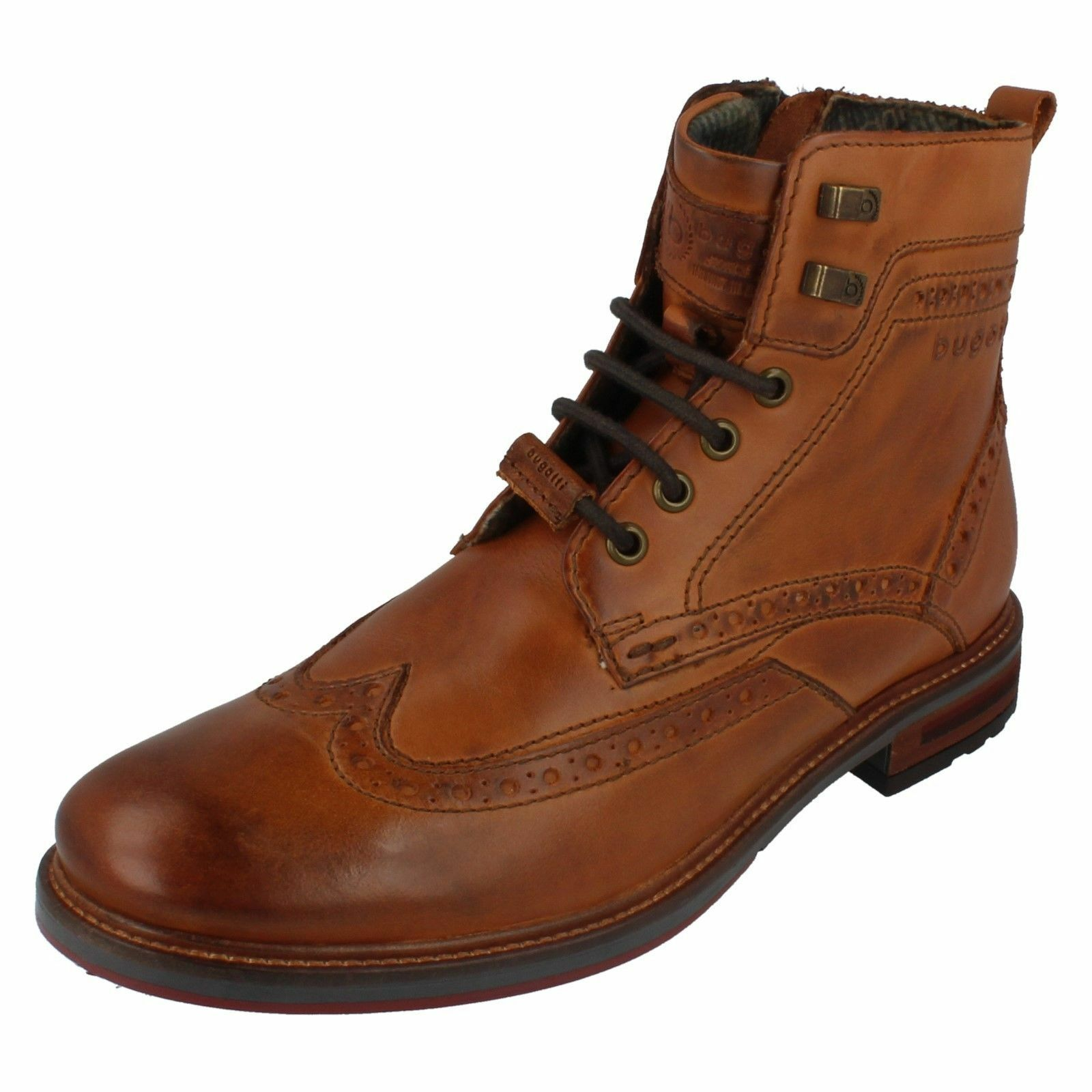 Ankle Herren 311-37737-1100 Leder Lace Up Ankle  Stiefel by Bugatti e5a015