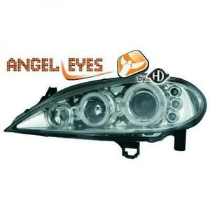 Scheinwerfer-Set-fur-Renault-Megane-99-02-Klarglas-Chrom-Angel-Eyes