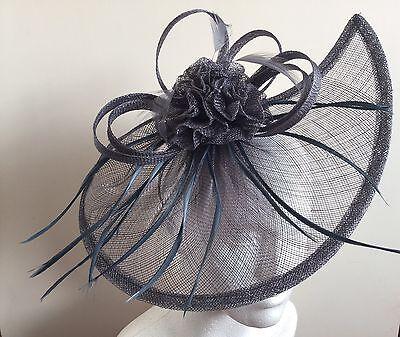 Sinamay Headband Fascinator Hat Alice band Wedding,Ladies Day,Race Royal Ascot