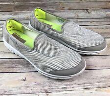 New Skechers Go Walk Rival Women Size 6 Walking Shoes 13755BKGK BlackGray Foam | eBay