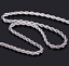 2-4mm-Fashion-925-Silver-Solid-Twist-Rope-Chain-Necklace-Wedding-Jewerly-16-30-034 thumbnail 4