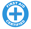 First-Aid-Certified-Emblem-Vinyl-Decal-Window-Sticker-Car thumbnail 5