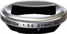 Pentax MH-RBB43 Lens Hood Silver For HD-DA 21mm f/3.2 AL Lens, London