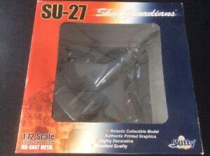 Witty Wings Sky Guardians 1:72 Su-27 Les avions moulés sous pression de l'armée de l'air chinoise