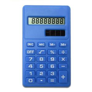 Candy-Color-Solar-Battery-Calculator-Counter-Random-Color-Student-Office-Tools