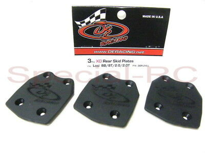 810 310L De Racing Xd Rear Skid Plate For Losi Ten-T