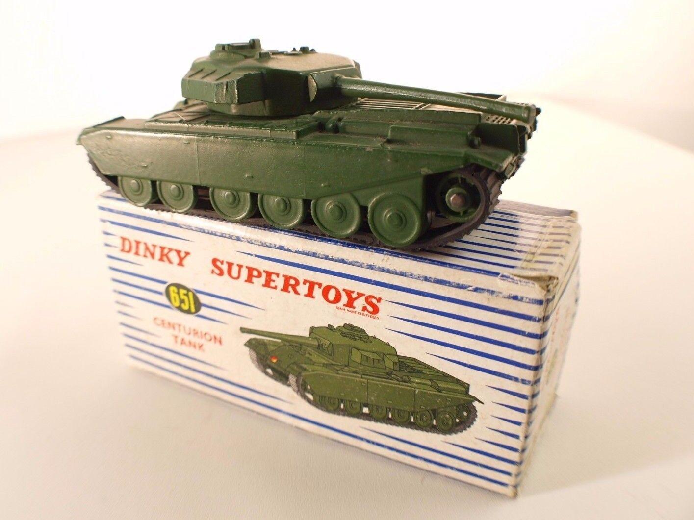 tienda en linea Dinky Juguetes GB 651 tank tank tank char Centurion militaire en boîte  protección post-venta
