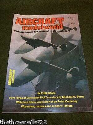 AIRCRAFT MODELWORLD - LOUIS BLERIOT - OCT 1989