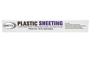 VALUETECK-16-039-x-350-039-Plastic-Sheeting-Autobody-Overspray-Masking-Protection