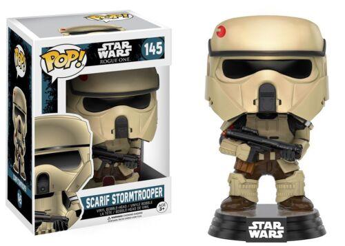 vinyl star wars rogue one SCARIF stormtrooper model figurine nº 145 Funko pop