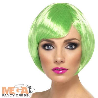 Costruttivo Green Babe Parrucca Strega Donna Costume Wicked Adulto Costume Di Halloween Accessorio-mostra Il Titolo Originale Ritardare La Senilità