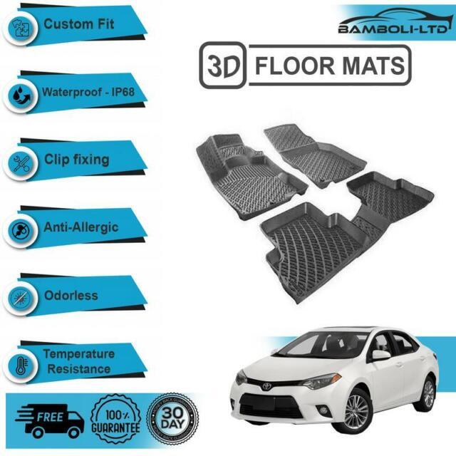 3d Molded Interior Car Floor Mat For Toyota Corolla 2013 2018