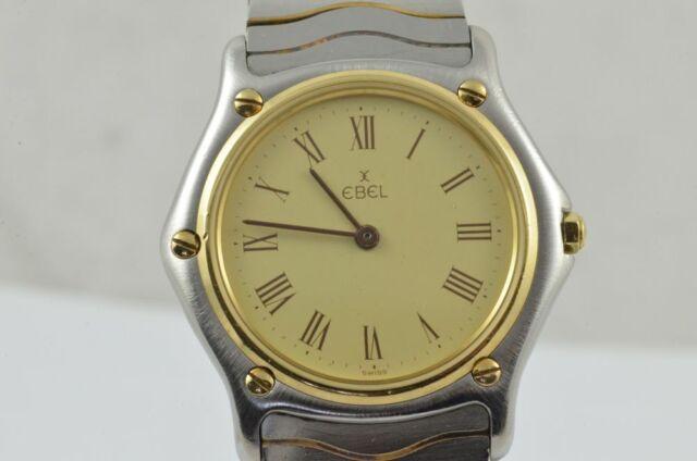 Ebel Sport Classique Women's Watch 34MM Steel/Gold Vintage