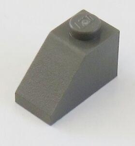 Lego 20 x Dachstein Schrägstein Slope 3040 45 °  2x1 neu dunkelgrau