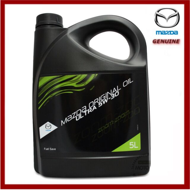 genuine mazda oil 5w30 dexelia ultra 5 litres all petrol engines inc