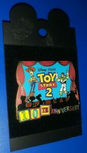 Disney Parks Pin Buzz /& Woody Year 10 Toy Story WDW 50 Years in 2021