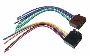 Autoradio-Adapter-Anschlusskabel-ISO-Norm-Stecker-Anschluss