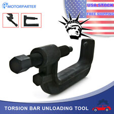 Qiilu Torsion Bar Removal Tool 7//8 inch Heavy Forged Steel Torsion Bar Unloading Tool Key Removal Compatible with GM Chevy Ford Dodge Car Truck Models