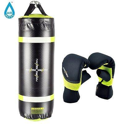 MaxxMMA Training /& Fitness Heavy Bag Neon Yellow