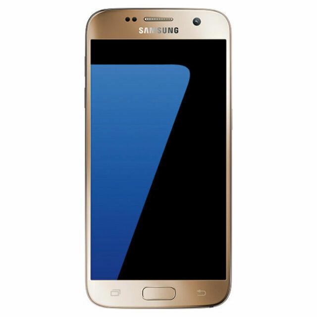 Samsung Galaxy S7 Sm G930 32gb Gold Platinum At T Smartphone For Sale Online Ebay