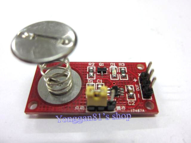Capacitive Touch Button Switch Module Inching / Latch Switch Sensor Module