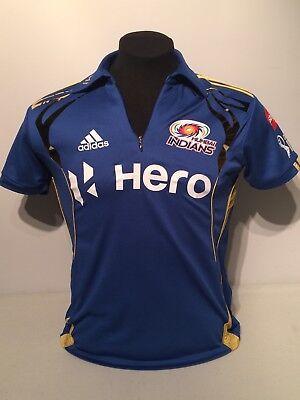 MI Mumbai India Indians Cricket Team Adidas Jersey XS Indian Premier League | eBay