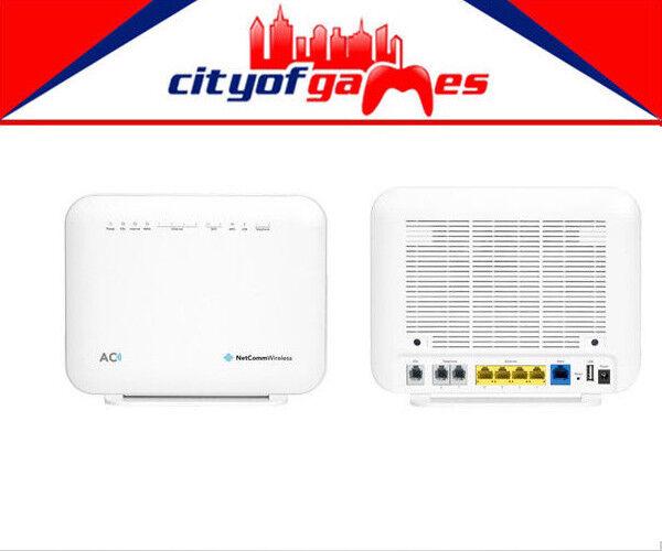 Netcomm NF18ACV NBN Ready AC1600 WiFi VoIP ADSL/VDSL Wireless Modem Router