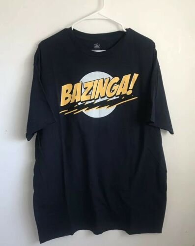 Bazinga Tee Big Bang Theory XXL