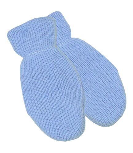 Babyprem bebé ropa de invierno mitones Guantes Un Par Chicos Chicas Rosa Azul Blanco