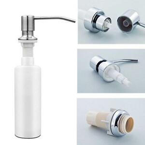 350ml Pump Soap Dispenser Kitchen Sink Bath Liquid Pp