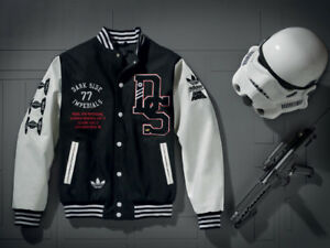 hot sale online c2124 3afe0 Image is loading NWT-X-STAR-WARS-DS-VARSITY-JACKET-FALL-