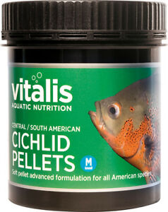 Vitalis-Central-South-American-Cichlid-Pellets-M-300g-Fish-Food