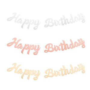 Party-Glitter-Gold-Letters-Happy-Birthday-Bunting-Garland-Hanging-Banner-Decors