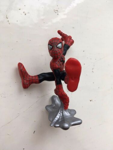 MARVEL SUPER HERO SQUAD SPIDERMAN ACTION FIGURE HASBRO PLAYSKOOL MINIFIGURE